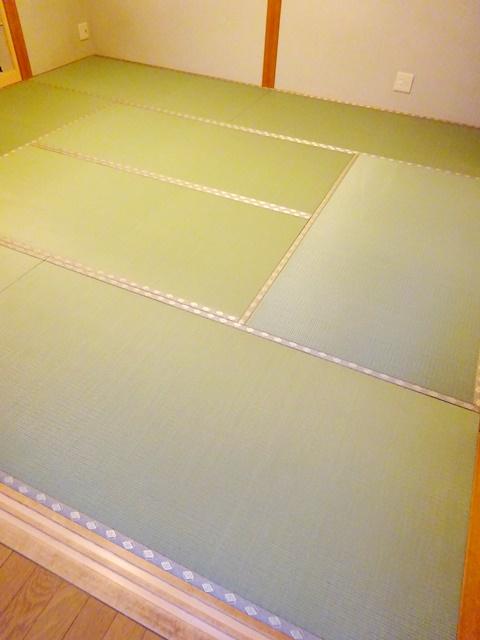 東レ洗える衛生畳、施工和室