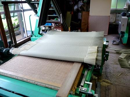 ひのき畳施工