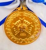 技能グランプリ、金メダル