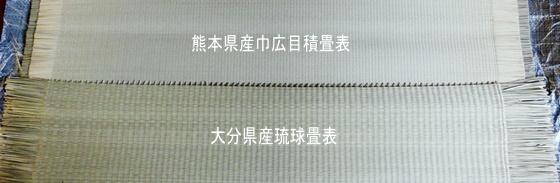琉球表と目積表