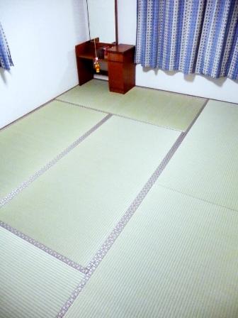 新畳施工和室